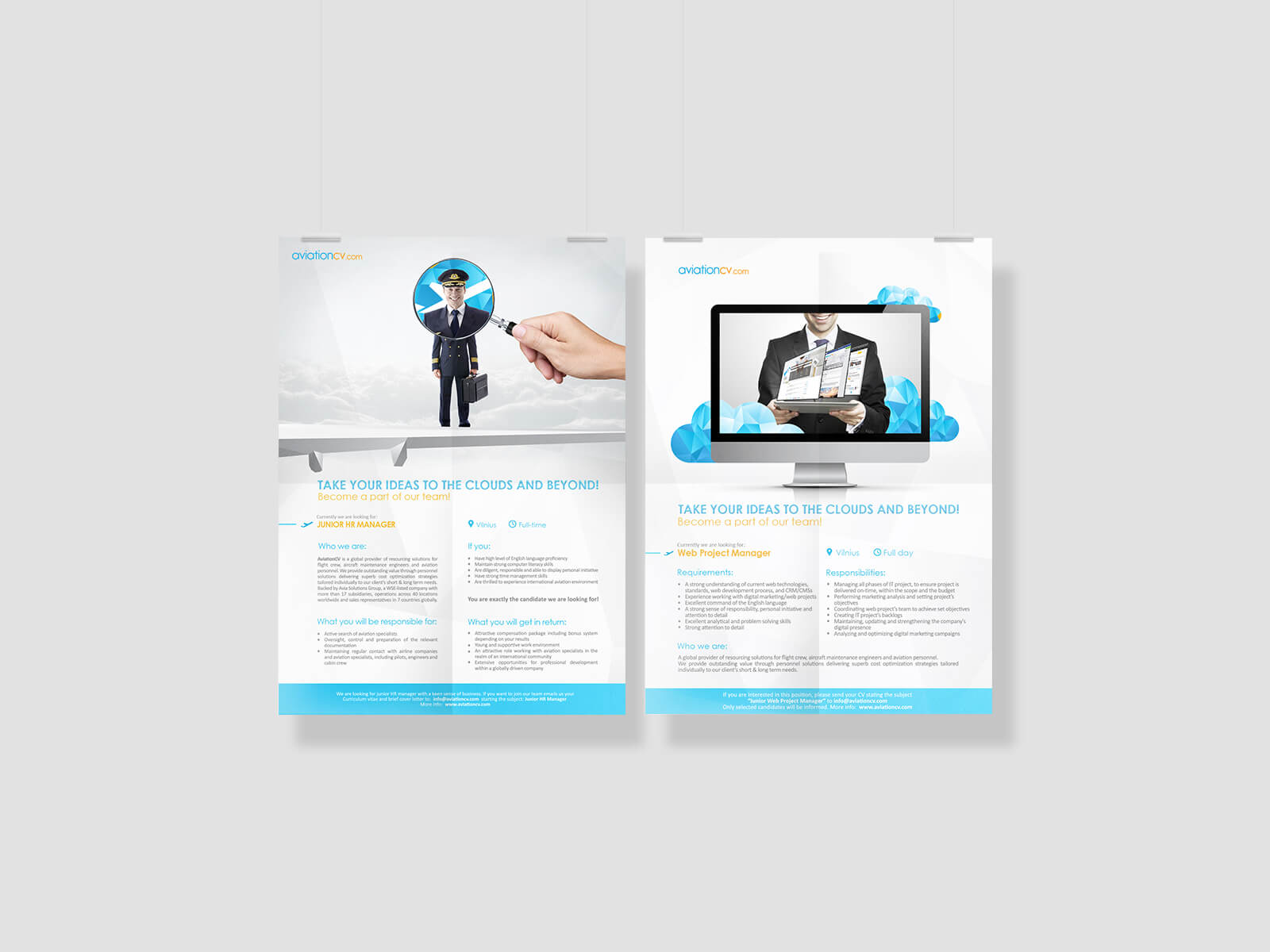 Corporate style brochure