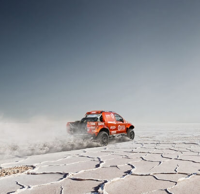 Dakar rally web
